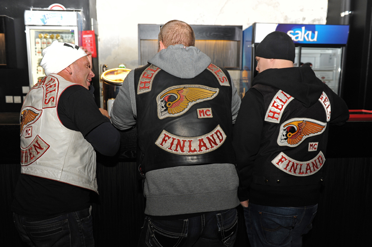 Prospect amp hangaround patch party in tallinn estonia hells angels