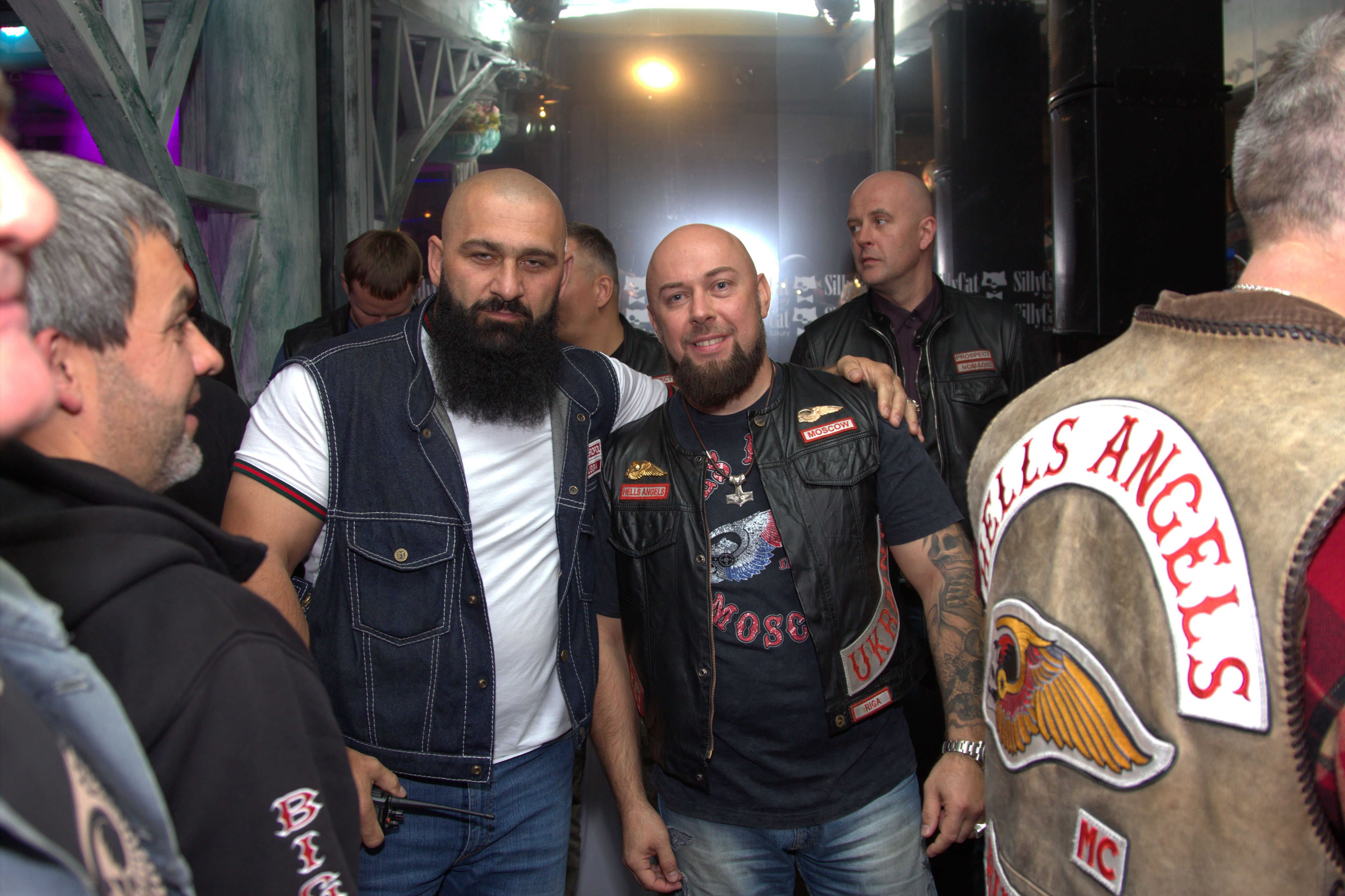 HELLS ANGELS MOSCOW 12 YEARS | Hells Angels MC Moscow