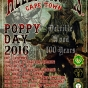 Cape Town, Poppy Day 2016