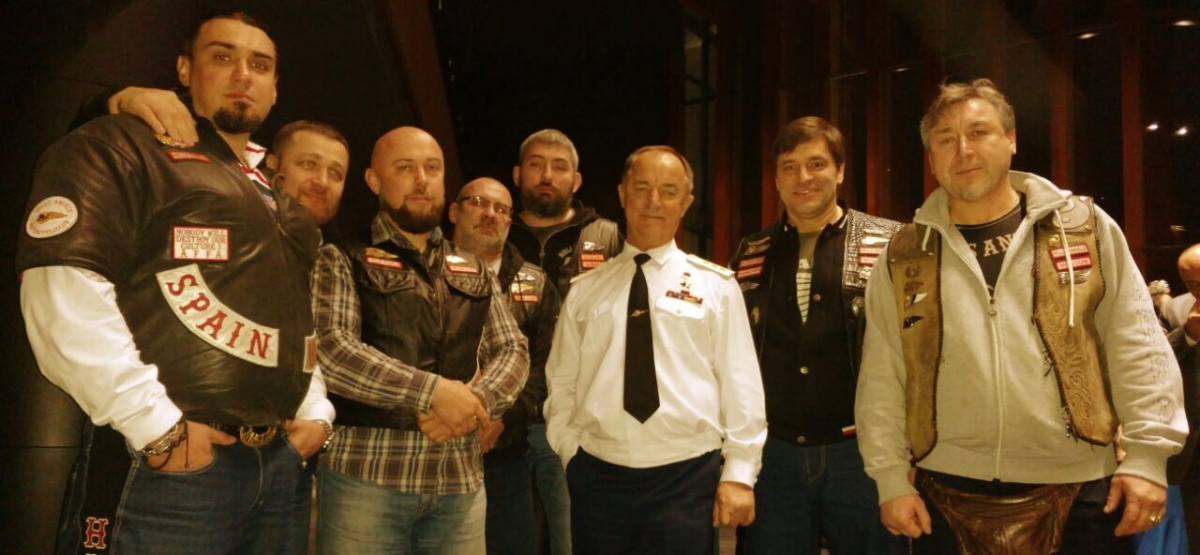 Representatives of the Hells Angels MC Moscow and Valery Vostrotin