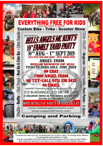 Events 2019 | Hells Angels MC Moscow